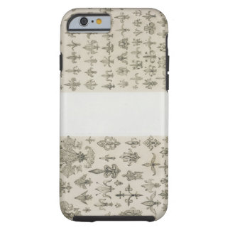 Fleur de Lys designs from every age and from all a Tough iPhone 6 Case