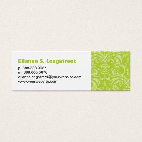Fleur de Lys Personal Business Card