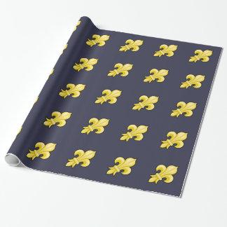 Fleur de Lys Wrapping Paper