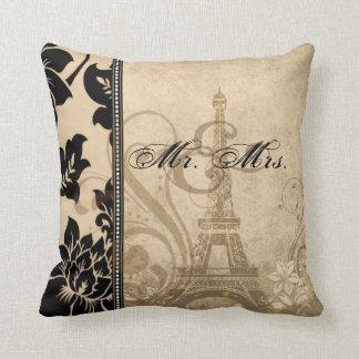 Fleur de Paris   sand Mr. & Mrs. Pillow