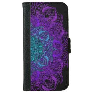 Fleur de Swirl - Choose Your Color! iPhone 6 Wallet Case