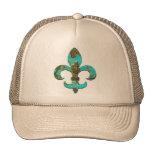 Fleur Faux Stone 1 Trucker Hat