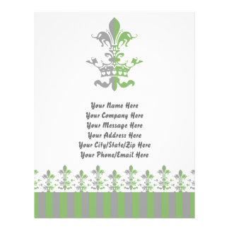 Fleur Heart Crown - Green Flyers