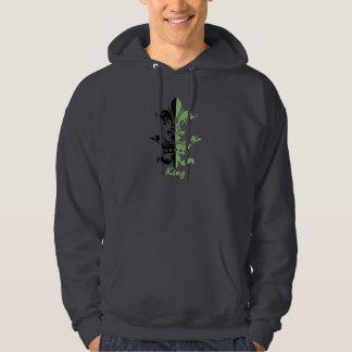 Fleur Heart Crown - Green Pullover