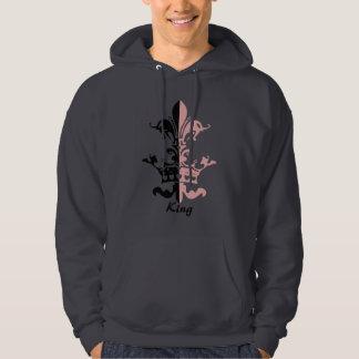 Fleur Heart Crown - Pink Sweatshirt
