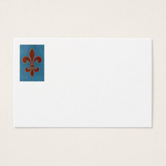 FLEUR OF LILY BUSINESS CARD