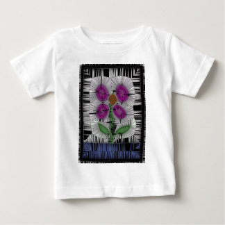 Fleur Stained Glass Baby T-Shirt