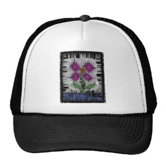 Fleur Stained Glass Cap