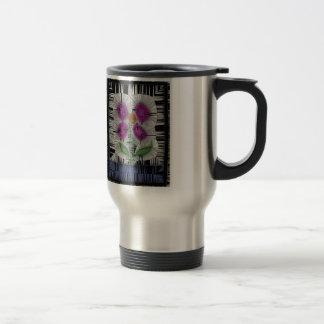 Fleur Stained Glass Travel Mug