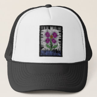 Fleur Stained Glass Trucker Hat