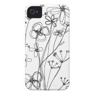 fleurs Case-Mate Case iPhone 4 Covers