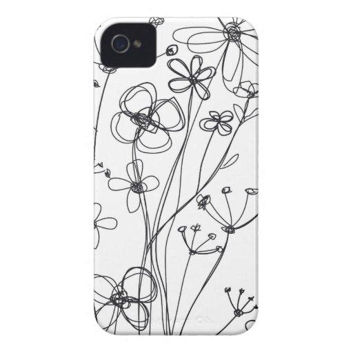 fleurs Case-Mate Case iPhone 4 Covers