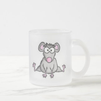 Flexible Mouse 10 Oz Frosted Glass Coffee Mug