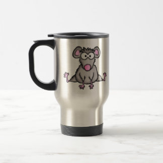 Flexible Mouse 15 Oz Stainless Steel Travel Mug