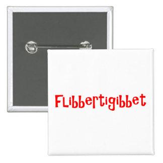 Flibbertigibbet 15 Cm Square Badge