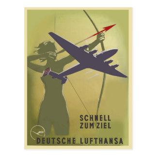 Fliegerei 1939 postcard