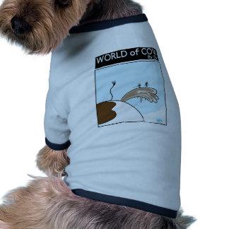 Flies Iceskating Doggie Shirt