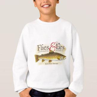 Flies & Lies Brown Trout Sweatshirt