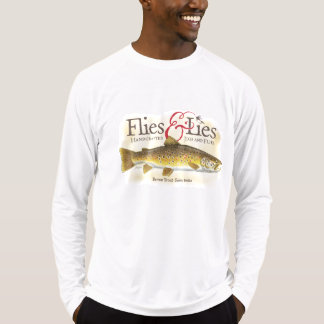 Flies & Lies Brown Trout T-Shirt