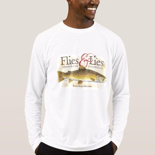 Flies & Lies Brown Trout T-Shirt