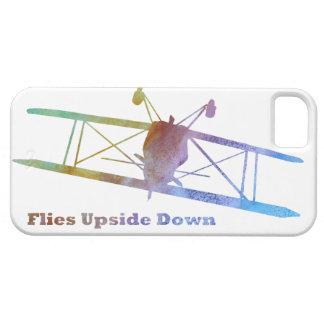 """Flies Upside Down"" Biplane iPhone 5 Covers"