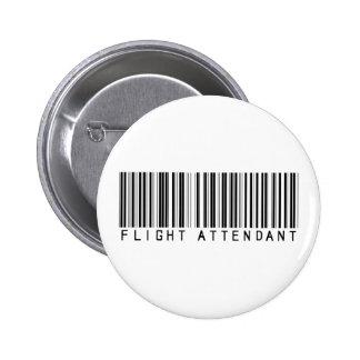 Flight Attendant Bar Code Buttons