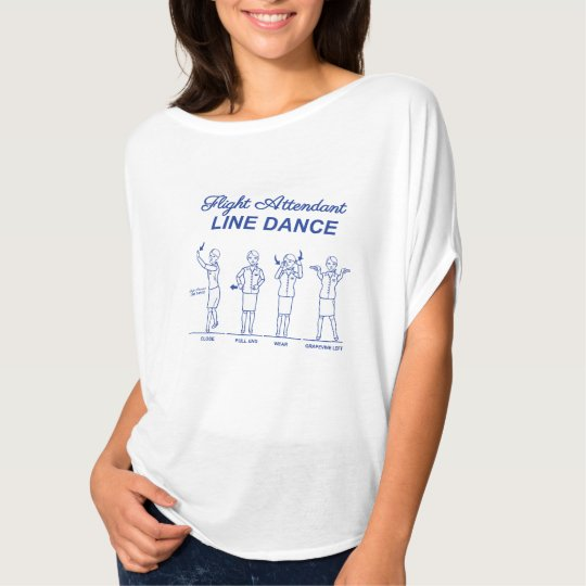 Flight Attendant Line Dance T-Shirt