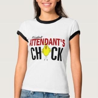 Flight Attendant's Chick T-shirt