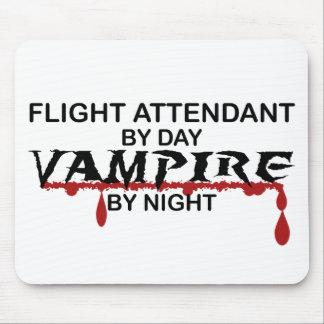 Flight Attendant Vampire by Night Mouse Pad