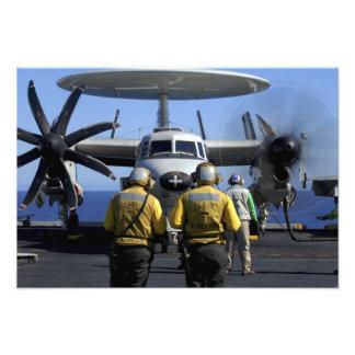 Flight deck directors photo print