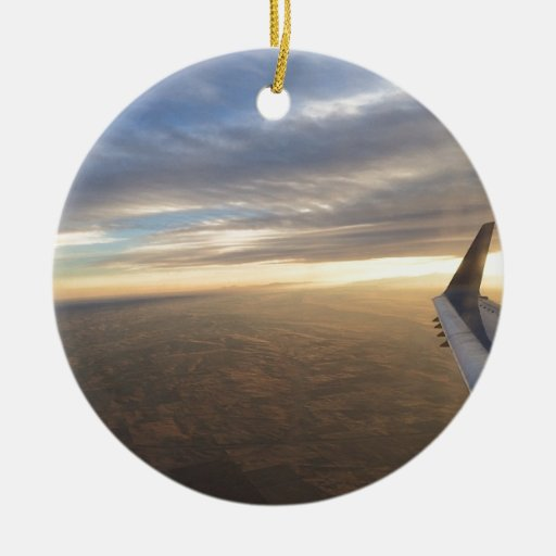 Flight Christmas Tree Ornament