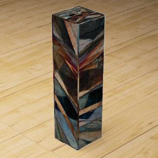 """Flight"" Digital Art Gift Wine Box"