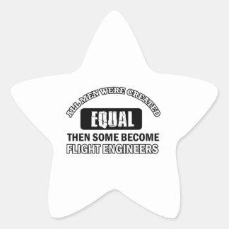 Flight Engineers Designs Star Sticker
