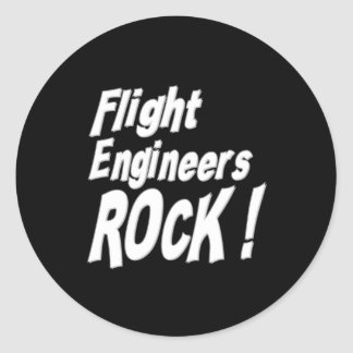 Flight Engineers Rock! Sticker