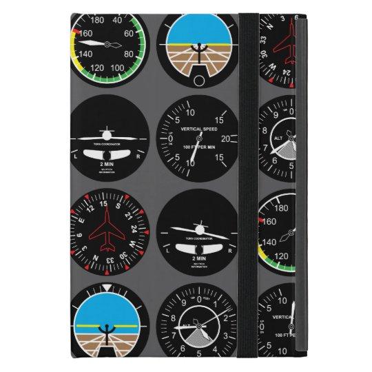 Flight Instruments Case For iPad Mini
