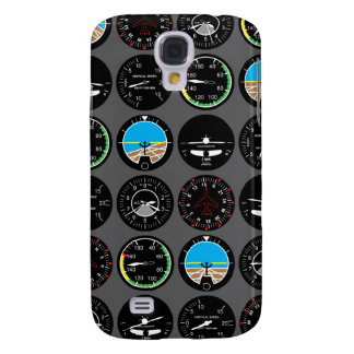 Flight Instruments Galaxy S4 Case