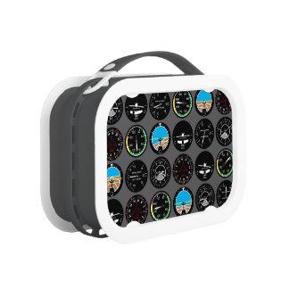 Flight Instruments Lunchbox