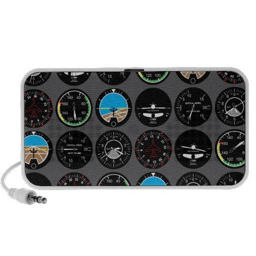 Flight Instruments iPhone Speaker