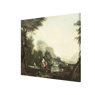 Flight into Egypt Canvas Print