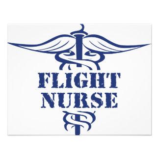 flight nurse custom announcement