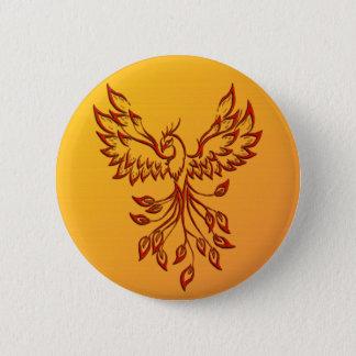 Flight of A Phoenix 6 Cm Round Badge