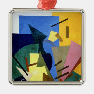 Flight of an Aeroplane, 1916 Silver-Colored Square Decoration