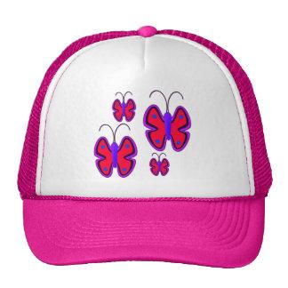 Flight of Butterflies Mesh Hat
