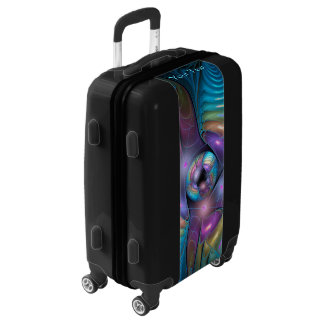 Flight Of Fancy Fractal Luggage