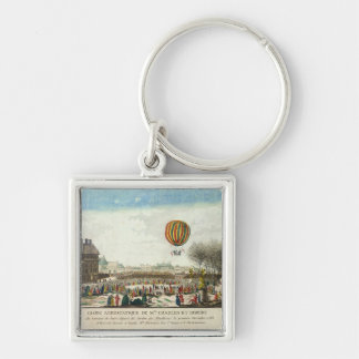 Flight of Jacques Charles  and Nicholas Robert Key Ring