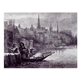 Flight of King James Postcard