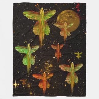Flight of the Angelflies Fleece Blanket