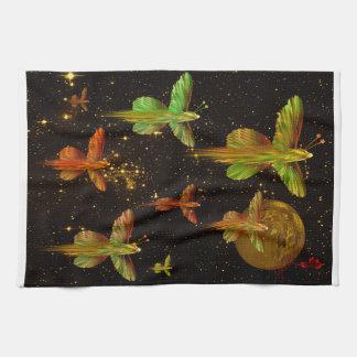 Flight of the Angelflies Hand Towels