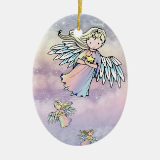 Flight of the Angels Ornament