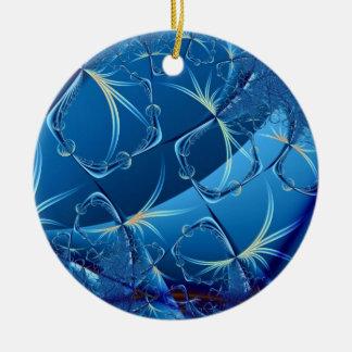 Flight of the Dragonflies Round Ceramic Decoration